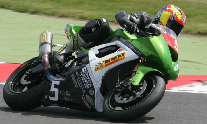 Richard Silver Solicitors are sponsoring twice British 125cc Motorcycle GP Champion