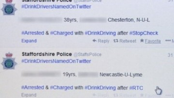 Police Escape Action Over Drink Drive Tweets