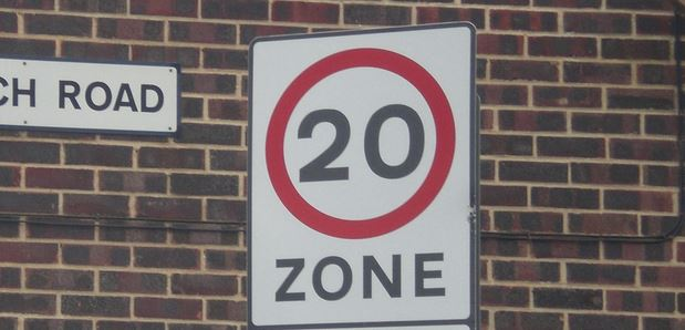 Sussex Police say they won't enforce 20 mph limits