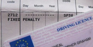 Motorist driving legally with forty-five penalty points