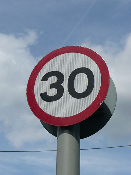 New 30mph Speed Limit On South Manchester Commuter Route
