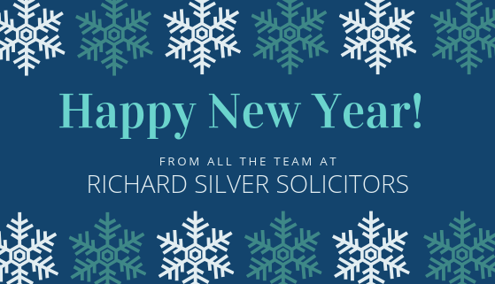 Happy New Year from Richard Silver Solicitors